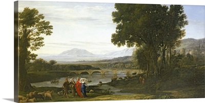 Landscape with Jacob and Laban and Laban's Daughters, 1654