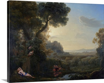 Landscape With Narcissus And Echo, 1644