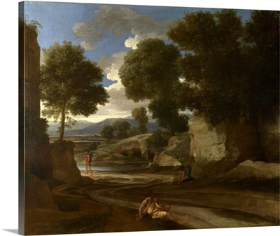 Landscape With Travellers Resting, C1638