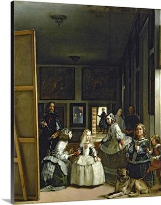 Las Meninas or The Family of Philip IV, c.1656