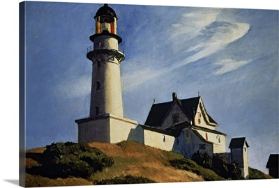 Lighthouse at Two Lights, 1929