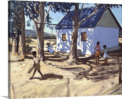 Little white house, Karoo, South Africa