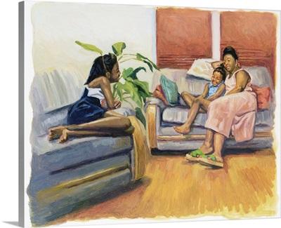 Living Room Lounge, 2000