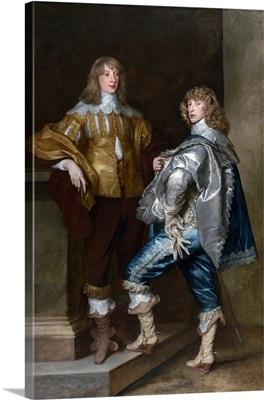 Lord John Stuart and his brother, Lord Bernard Stuart  c.1638