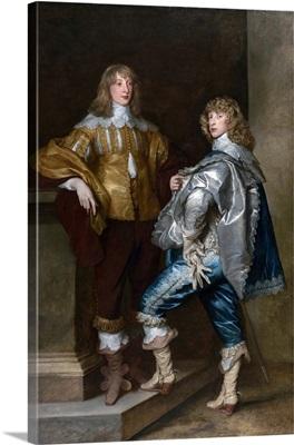 Lord John Stuart and his brother Lord Bernard Stuart c. 1638