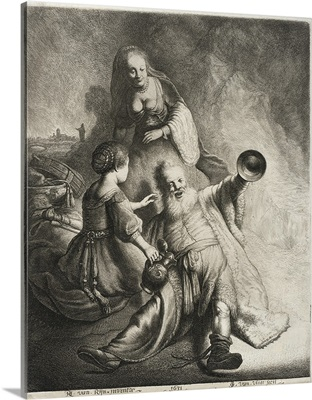 Lot and His Daughters, 1631