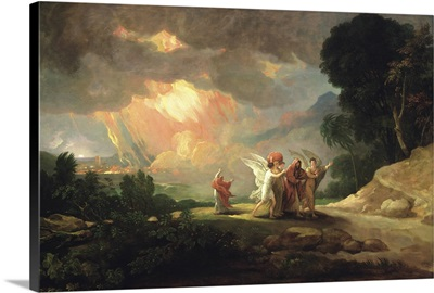 Lot Fleeing from Sodom, 1810