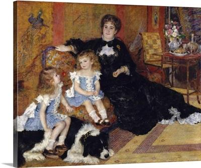 Madame Georges Charpentier and her Children, 1878