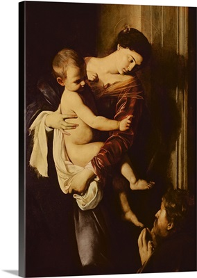 Madonna dei Pellegrini, or Madonna of Loreto, 1604-1606