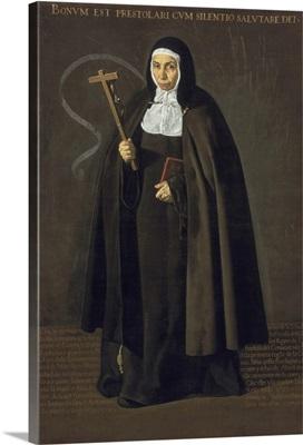 Madre Maria Jeronima de la Fuente, 1620