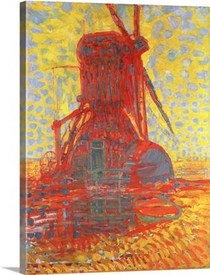 Mill In Sunlight: The Winkel Mill