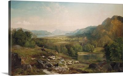 Minding the Flock, 1867