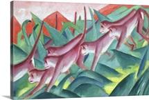 Monkey Frieze, 1911 (oil on canvas)
