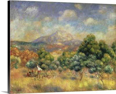 Mont Sainte-Victoire, 1889