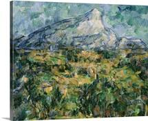 Mont Sainte Victoire, 1904 05 (oil on canvas)