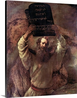 Moses Smashing the Tablets of the Law, 1659