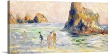 Moulin Huet Bay, Guernsey, c.1883 (oil on canvas)