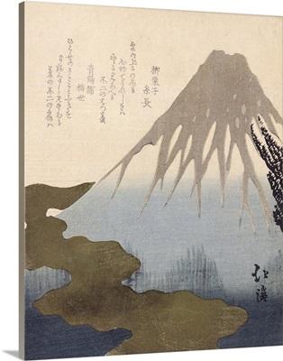 Mount Fuji Under the Snow