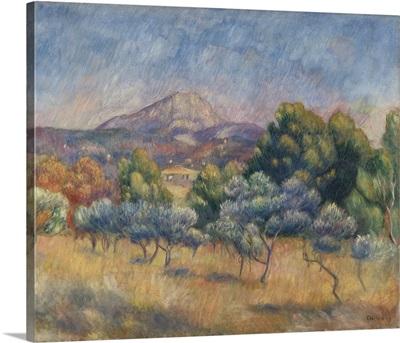 Mount of Sainte-Victoire, c.1888-89