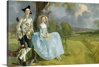 Mr and Mrs Andrews, c.1748 9