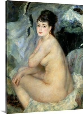 Nude, or Nude Seated on a Sofa, 1876