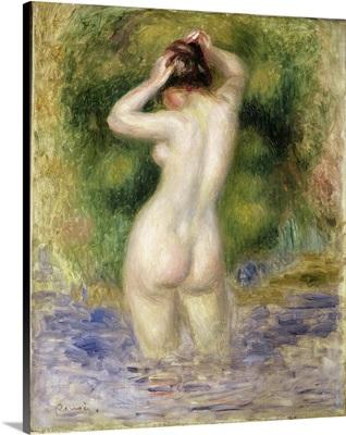Nude Wading, 1880
