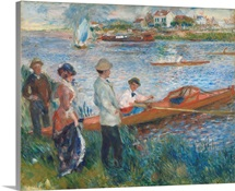 Oarsmen at Chatou, 1879