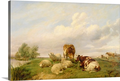 On Canterbury Meadows, 1861