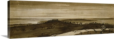 Panorama from the Sasso, 1649-1655