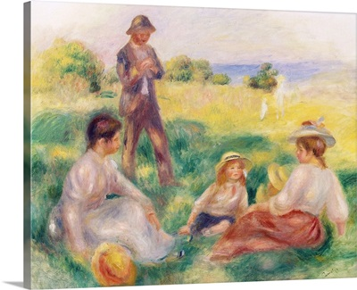 Party in the Country at Berneval, 1898