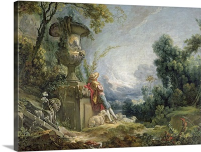 Pastoral Scene, or Young Shepherd in a Landscape