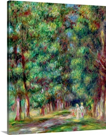 Path in a Wood, 1910 (oil on canvas)
