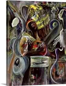 Pearl Jam (acrylic on canvas)