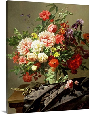 Peonies, Poppies and Roses, 1849