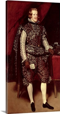 Philip IV (1605-65) of Spain in Brown and Silver, c.1631-2