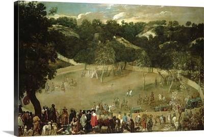 Philip IV Hunting Wild Boar (La Tela Real), c.1632-7