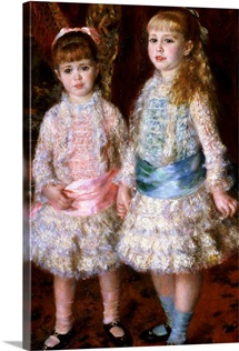 Pink and Blue or, The Cahen dAnvers Girls, 1881 (oil on canvas)