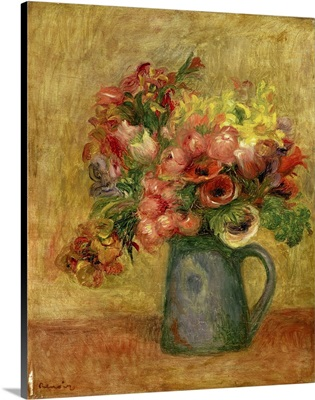 Pitcher Of Flowers, 1889