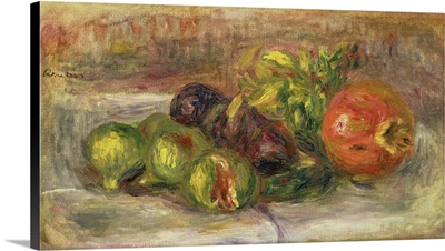 Pomegranates And Figs, 1917