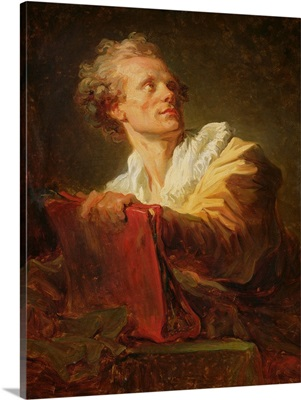 Portrait of a Young Artist, presumed to be Jacques-Andre Naigeon (1738-1810)