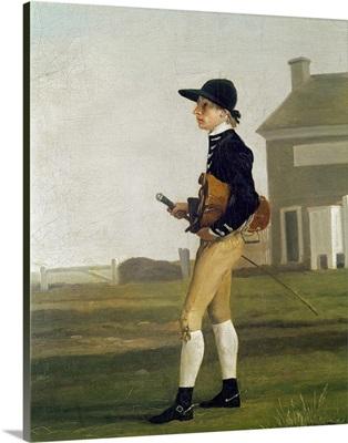 Portrait of a Young Jockey