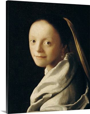 Portrait of a Young Woman, c.1663 65
