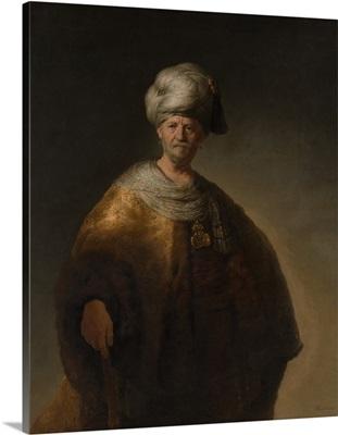 Portrait of an Oriental Man, The Noble Slav, 1632