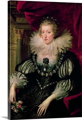 Portrait of Anne of Austria (1601-66) Infanta of Spain, Queen of France and Navarre