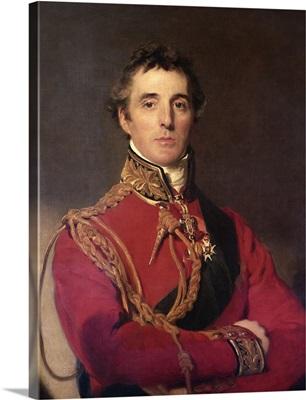 Portrait of Arthur Wellesley (1769-1852), 1st Duke of Wellington, 1814