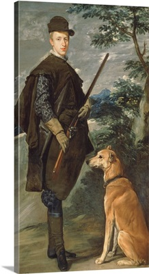 Portrait of Cardinal Infante Ferdinand (1609-41) of Austria with Gun and Dog, 1632
