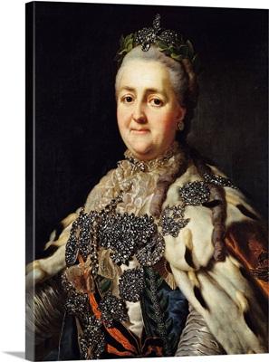Portrait of Catherine II (1729-96) of Russia