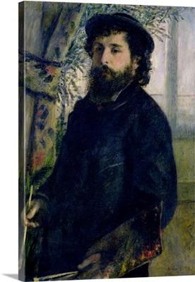 Portrait of Claude Monet (1840 1926) 1875