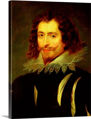 Portrait of George Villiers (1592-1628) 1st Duke of Buckingham  (see also