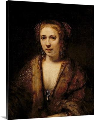 Portrait of Hendrikje Stoffels (1625 63)